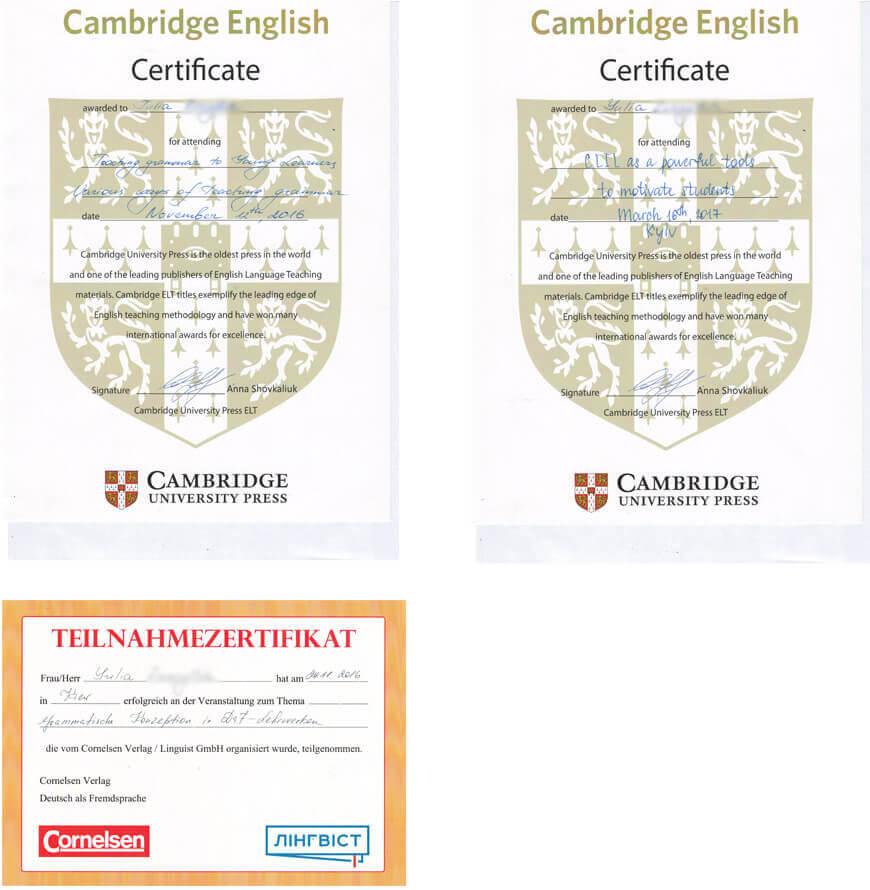 Дипломы по английскому языку