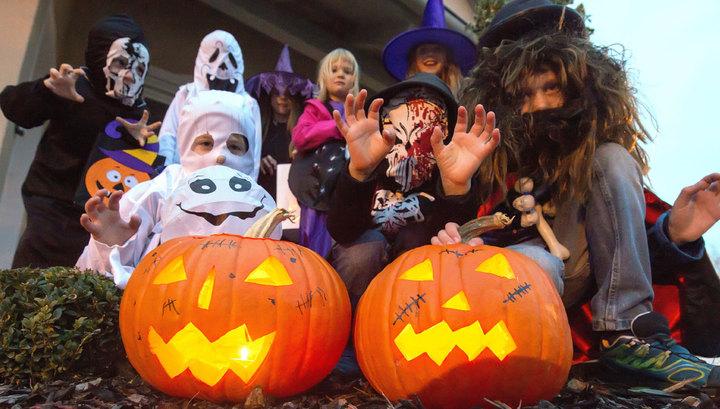 Как праздуют Хэллоуин в США Америке