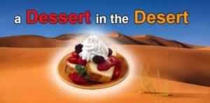 Dessert or Desert. Пустыня и десерт