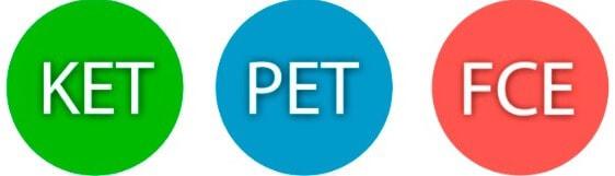 Экзамены KET, PET, FCE сдача в киеве