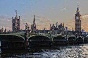 Фото Англии, Лондон, вид на tower и биг-бен