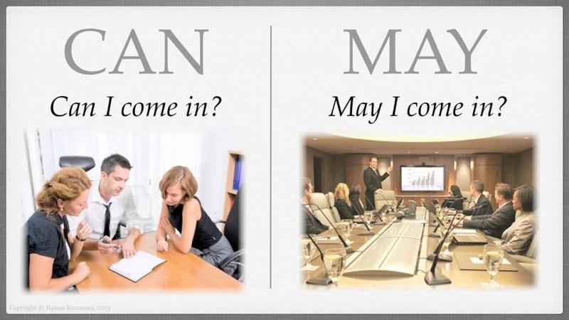 'Can' и 'may': какая между ними разница?