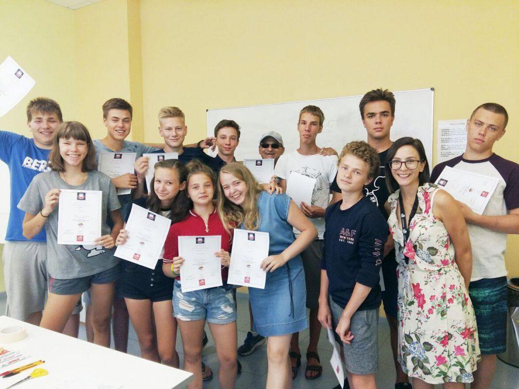 Английский лагерь летний